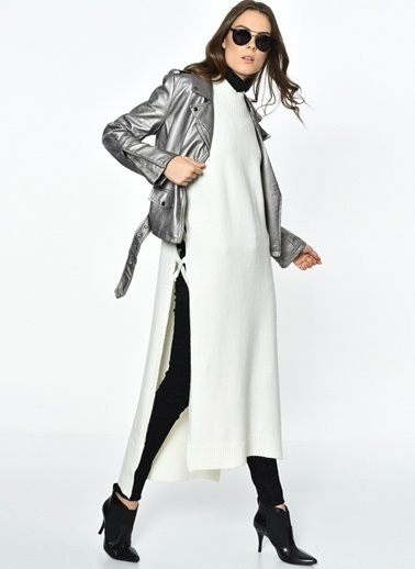 Glamorous Elbise Krem